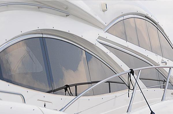 Tintado de lunas Mallorca en barcos control solar